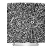 Circle Art Shower Curtain