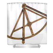17 Century Quadrant Shower Curtain