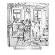 Johann Goethe (1749-1832) Shower Curtain
