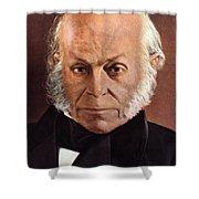 John Quincy Adams Shower Curtain