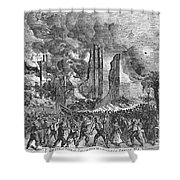 New York: Draft Riots, 1863 Shower Curtain