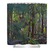 17- Welcome To The Jungle Shower Curtain