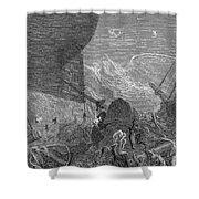 Coleridge: Ancient Mariner Shower Curtain