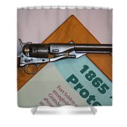 1865 Gun Shower Curtain