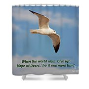 19- Hope Whispers Shower Curtain
