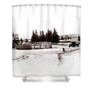 1900 Farm Shower Curtain