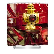 1904 Franklin Open Four Seater Taillight Shower Curtain
