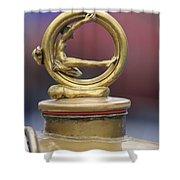 1912 Gobron-brillie 12 Cv Skiff Hood Ornament Shower Curtain