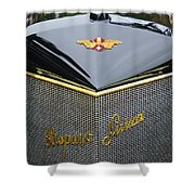 1912 Hispano-suiza 15-45 Hp Alfonso Xiii Jaquot Torpedo Grille Shower Curtain