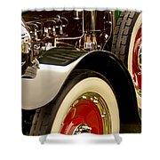 1919 Mcfarlan Type 125 Touring Engine Shower Curtain