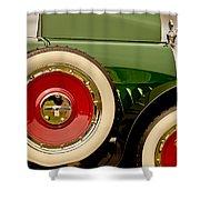 1919 Mcfarlan Type 125 Touring Shower Curtain