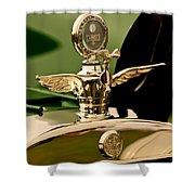 1919 Mcfarlan Type 125 Touring Motometer - Hood Ornament Shower Curtain