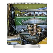 1919 Stutz Bearcat Special Engine Shower Curtain