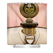 1921 Mercer Series 5 Raceabout Motometer Shower Curtain