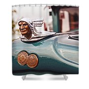 1928 Pontiac Sedan Chief Of The Sixes Shower Curtain