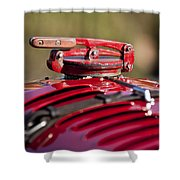 1929 Birkin Blower Bentley Hood Ornament Shower Curtain