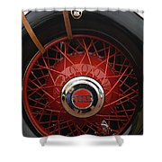 1929 Cord L-29 Detail - D008158 Shower Curtain by Daniel Dempster