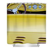 1929 Ford Model A Roadster Shower Curtain