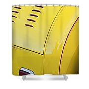 1929 Ford Model A Roadster Taillight Shower Curtain
