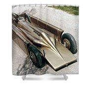 1929 Golden Arrow Shower Curtain