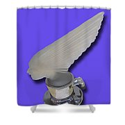 1929 Pierce Arrow Mascot Shower Curtain