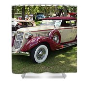 1930 Buick Shower Curtain