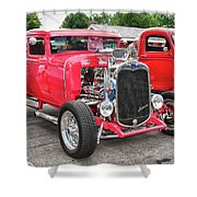 1930 Ford   7779 Shower Curtain