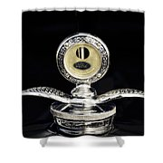 1930 Ford Hood Ornament  Shower Curtain
