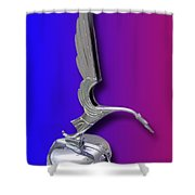 1931 Cadillac V-16 Heron Mascot Shower Curtain
