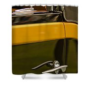 1931 Chrysler Cg Imperial Waterhouse Convertible Victoria Door Handle Shower Curtain