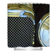 1932 Alvis-6 Speed 20 Sa Grille Emblem Shower Curtain