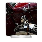 1932 Chevrolet Detail Shower Curtain