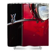 1932 Ford Roadster Grille Shower Curtain