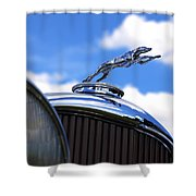 1932 Lincoln Kb Brunn Phaeton Shower Curtain