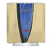 1933 Chevrolet Emblem Shower Curtain