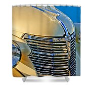 1933 Chevrolet Grille And Headlights Shower Curtain