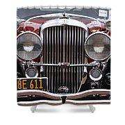 1933 Duesenberg Model J - D008167 Shower Curtain