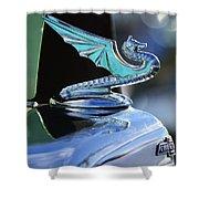 1934 Aftermarket Chevrolet Hood Ornament Shower Curtain