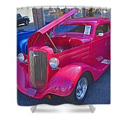 1934 Chevy Coupe Shower Curtain