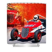 1934 Ford Indy Special Shower Curtain