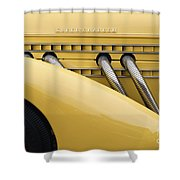 1935 Auburn 851 Sc Speedster Detail - D008160 Shower Curtain