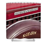 1935 Auburn Emblem Shower Curtain