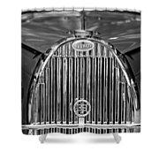 1935 Bugatti Type 57 Roadster Grille 2 Shower Curtain