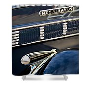 1935 Reo Speed Wagon 6ap Pickup  Shower Curtain