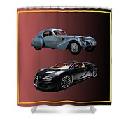 1936 Bugatti 2010 Bugatti Shower Curtain