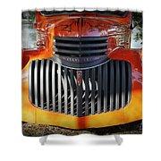 1936 Chevrolet Pickup Truck Shower Curtain