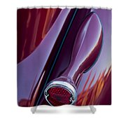 1936 Ford Phaeton Taillight Shower Curtain