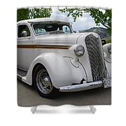 1936 Plymouth Shower Curtain