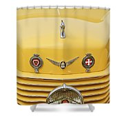 1937 Cord 812 Sc Convertible Phaeton Sedan Grille Emblems Shower Curtain
