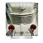 1937 Cord 812 Sc Phaeton Grille Shower Curtain